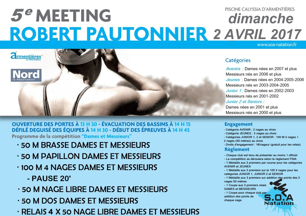 Meeting Robert Pautonnier 2017
